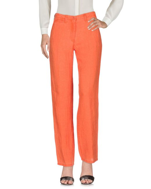 Peserico - Orange Casual Trouser - Lyst