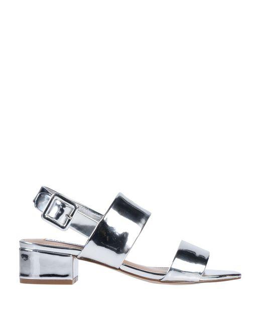 Sandales Steve Madden en coloris Metallic