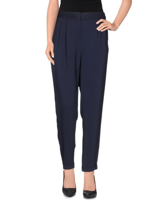 Mauro Grifoni - Blue Casual Pants - Lyst