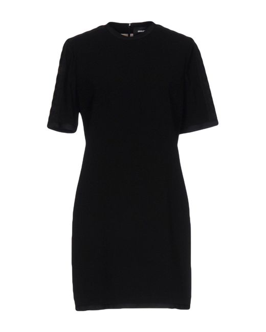 DSquared² Black Short Dress