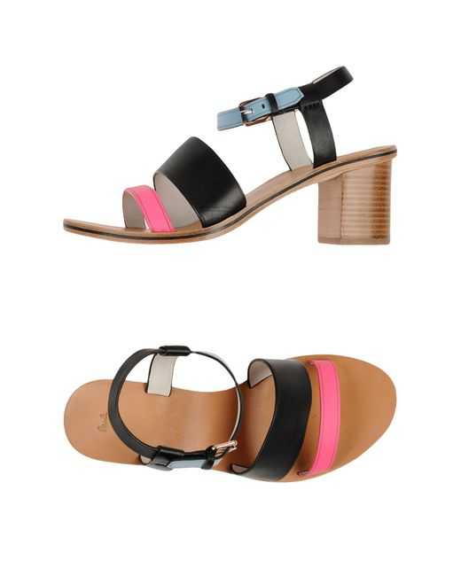 Paul by Paul Smith - Black Sandals - Lyst