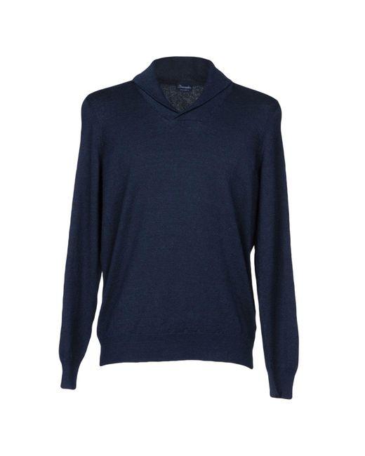 Drumohr | Blue Sweater for Men | Lyst