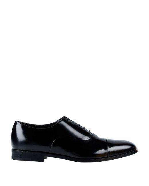 Prada - Black Schnürschuh for Men - Lyst