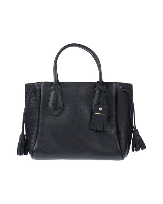 Bolso de mano Longchamp de color Black
