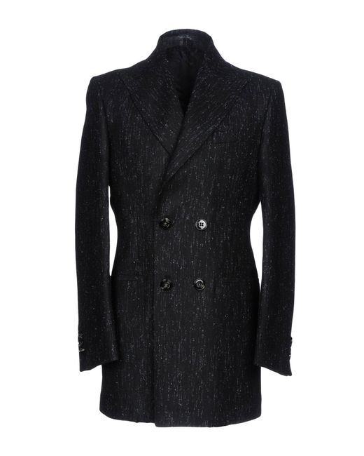 Takeshy Kurosawa Black Coat for men