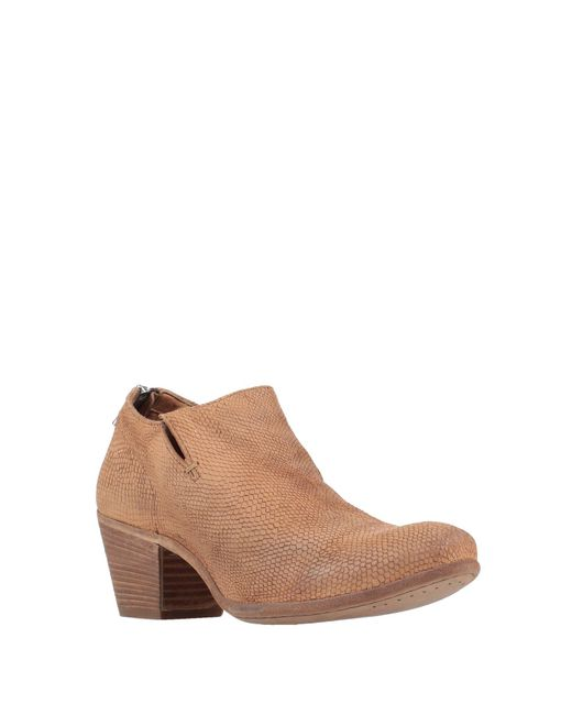 Officine Creative Brown Ankle Boot