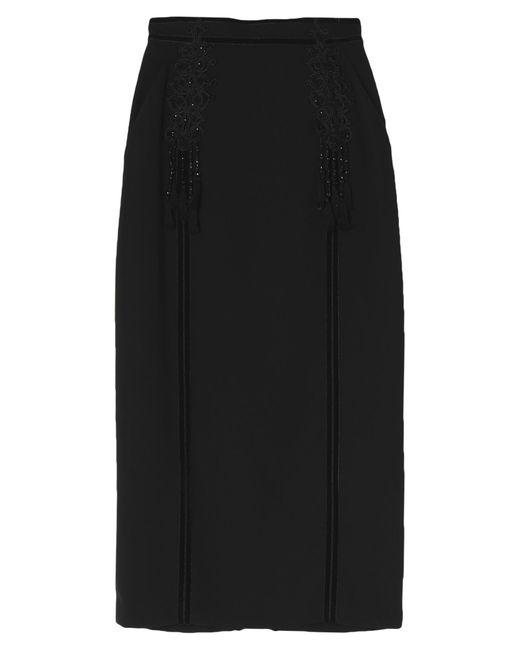 Zuhair Murad Black 3/4 Length Skirt