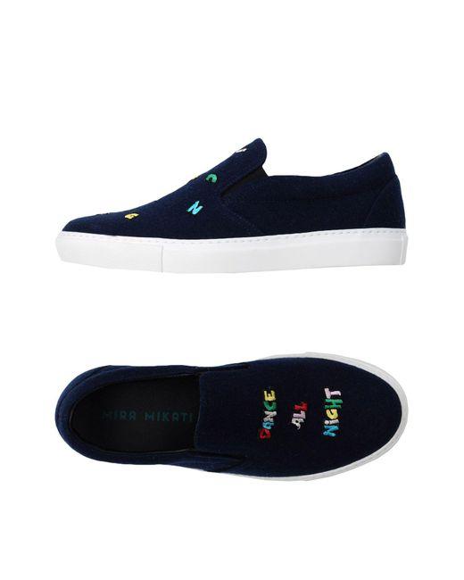 MIRA MIKATI - Blue Low-tops & Sneakers - Lyst