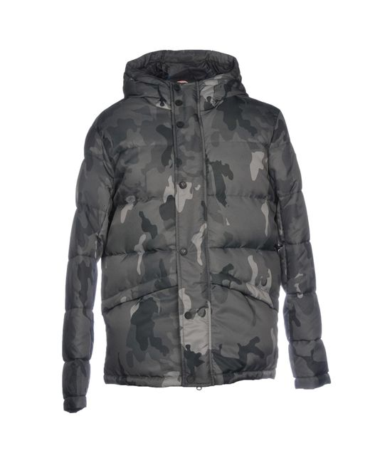 Rossignol - Gray Down Jackets for Men - Lyst