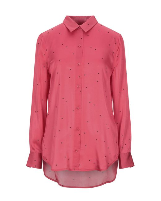Equipment Camisa de mujer de color rojo ndxCd
