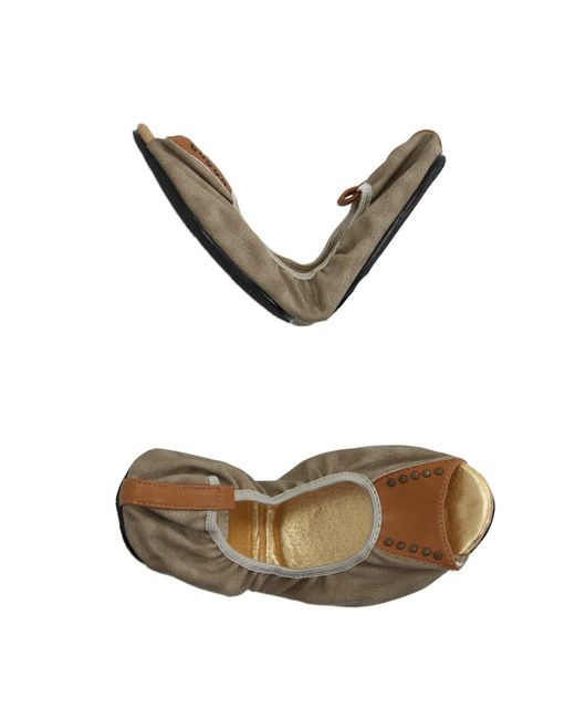 Cocorose London - Natural Ballet Flats - Lyst