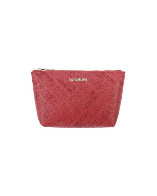 Love Moschino - Red Pouch - Lyst