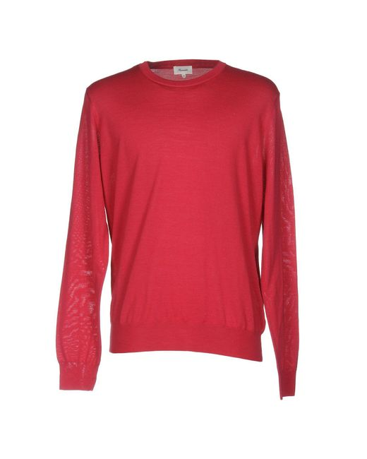 Façonnable | Red Sweater for Men | Lyst