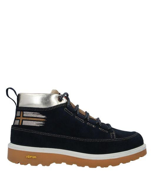 Napapijri Blue Ankle Boots