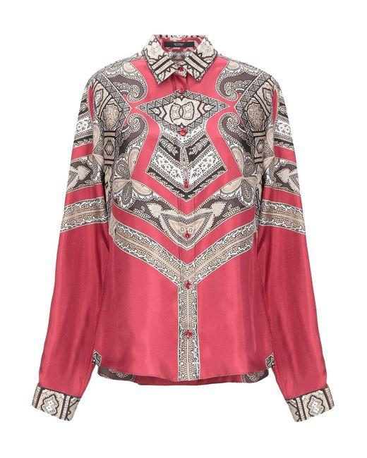 Etro Camisa de mujer de color rosa me2Wr
