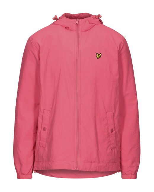 Lyle & Scott Pink Jacket for men