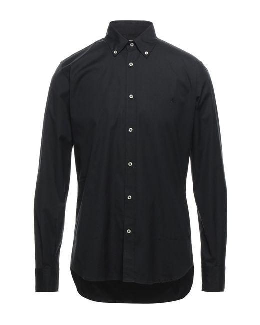 Camicia di Brooksfield in Black da Uomo