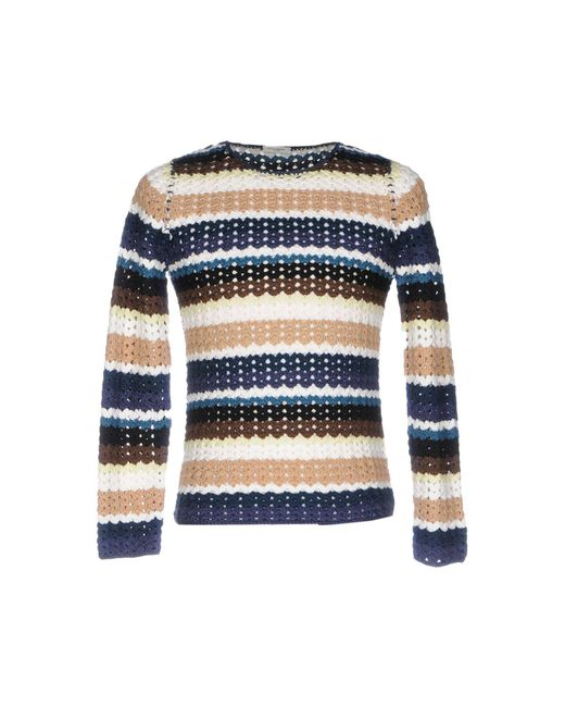 Paolo Pecora Blue Sweater for men