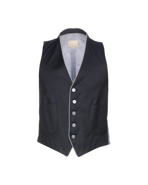 Band of Outsiders Blue Waistcoat for men