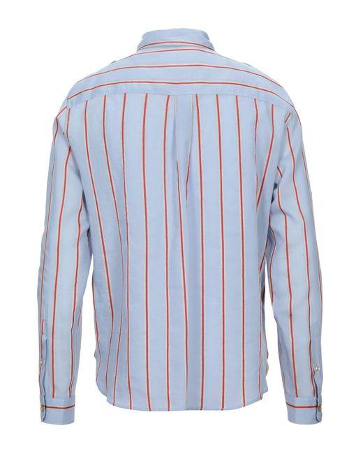 Isabel Marant Blue Shirt for men