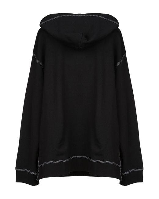 MM6 by Maison Martin Margiela Black Sweatshirt
