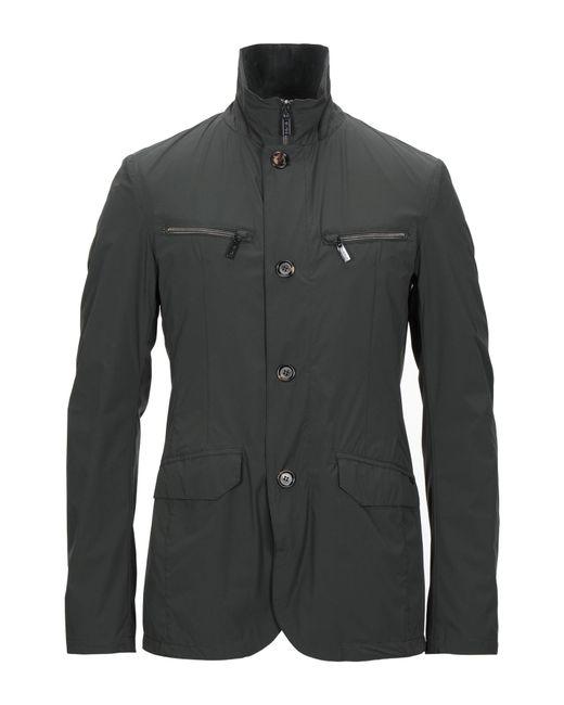 Gimo's Green Overcoat for men