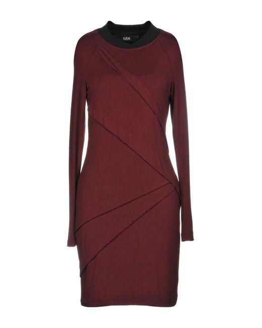 Cut25 by Yigal Azrouël Red Short Dress