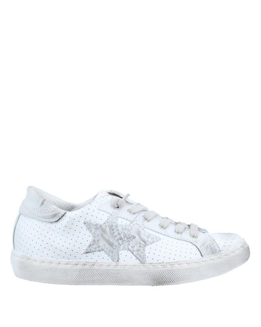 2Star Sneakers & Deportivas de mujer de color blanco
