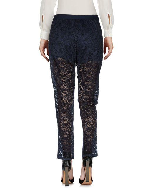Liu Jo Blue Casual Pants