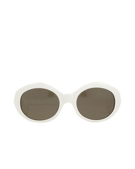 Occhiali da sole di Linda Farrow in White