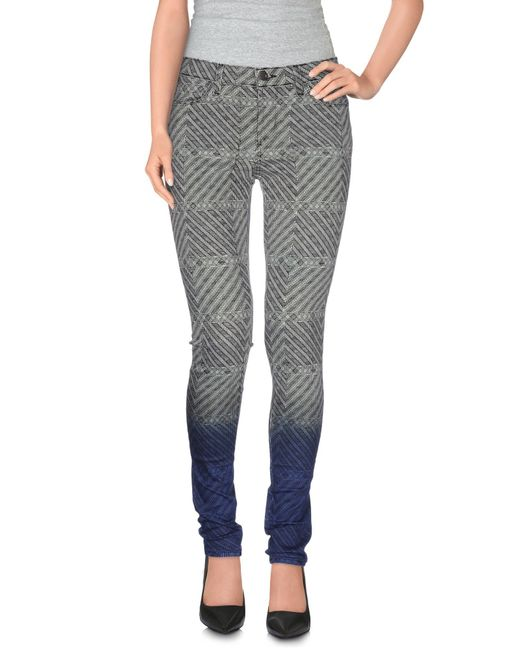 J Brand - Black Denim Pants - Lyst