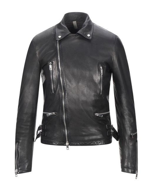 Tagliatore Black Jacket for men