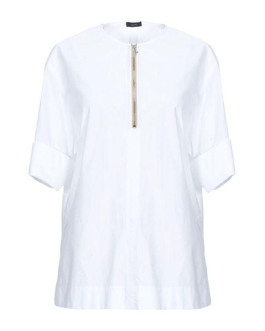 JOSEPH Blusa de mujer de color blanco qZ1Sd