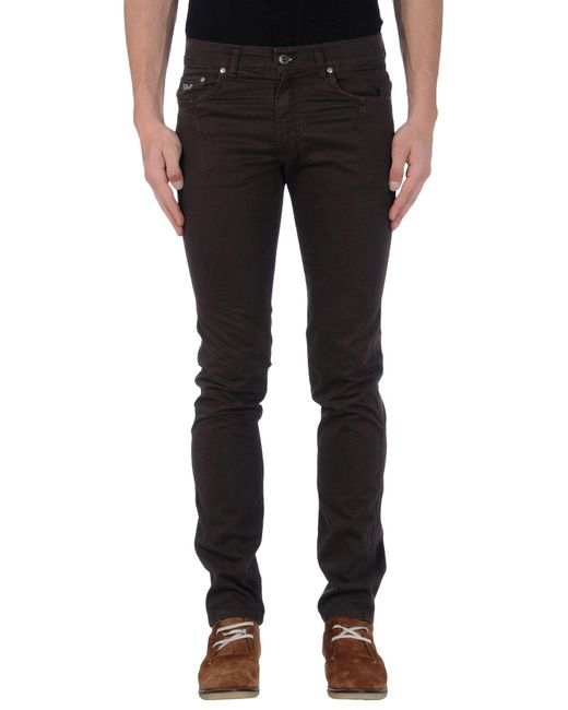 Harmont & Blaine   Brown Casual Trouser for Men   Lyst