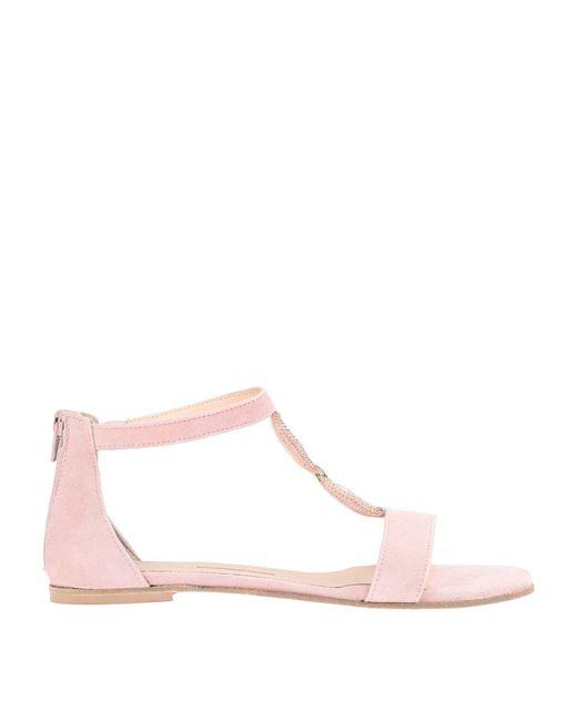 Chiarini Bologna Sandalias de mujer de color rosa