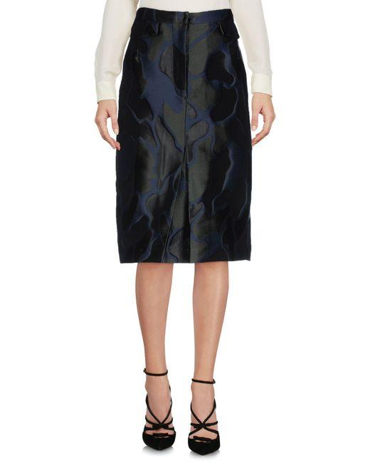 Collection Privée Blue 3/4 Length Skirt