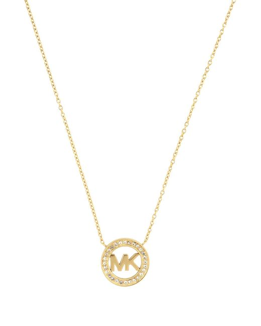 Michael Kors - Metallic Necklace - Lyst