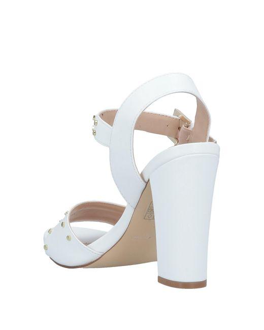 Gattinoni White Sandale