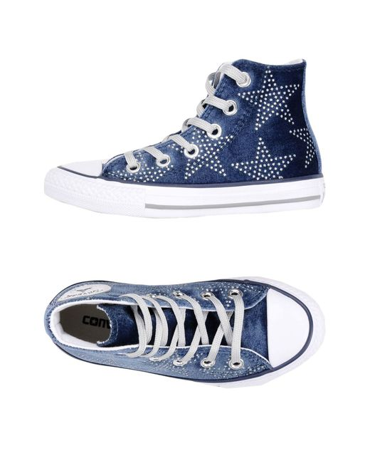 25984040db9a Lyst - Converse High-tops   Sneakers in Blue for Men
