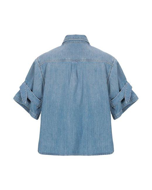 Chemise en jean Pepe Jeans en coloris Blue