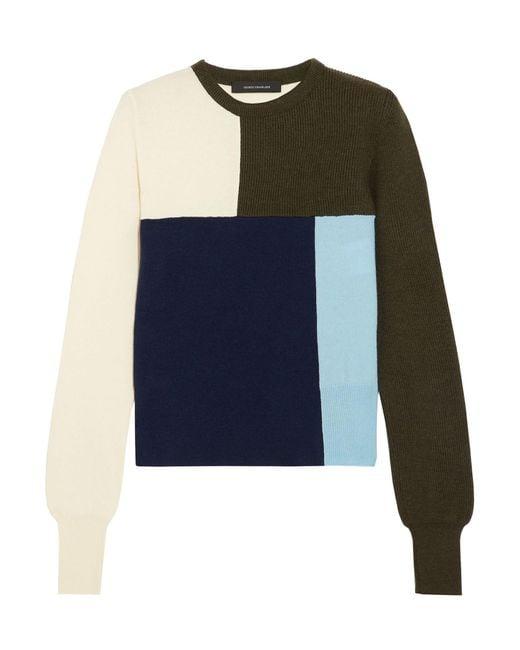 Pullover di Cedric Charlier in Blue