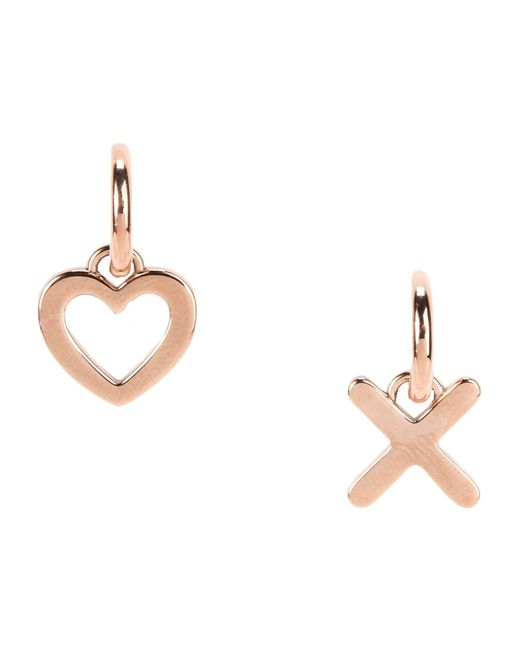 Tommy Hilfiger - Metallic Earrings - Lyst
