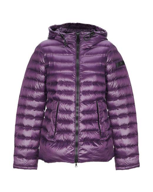 Peuterey - Purple Down Jacket - Lyst