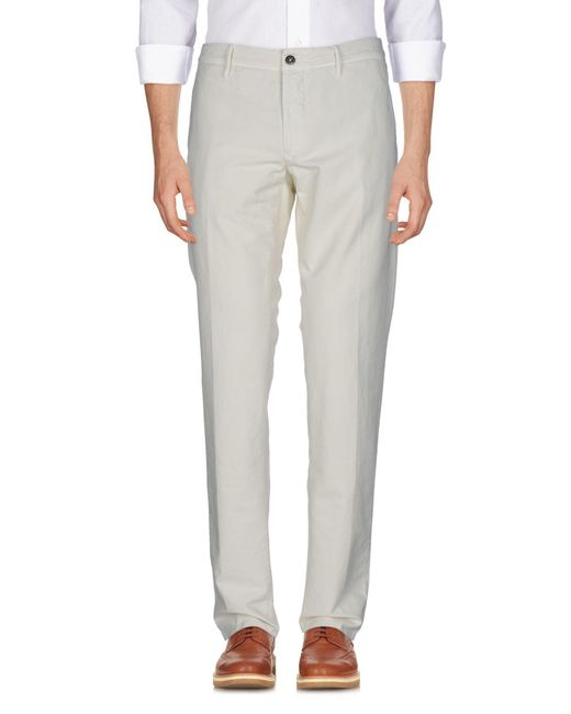 Pantalon Incotex pour homme en coloris White