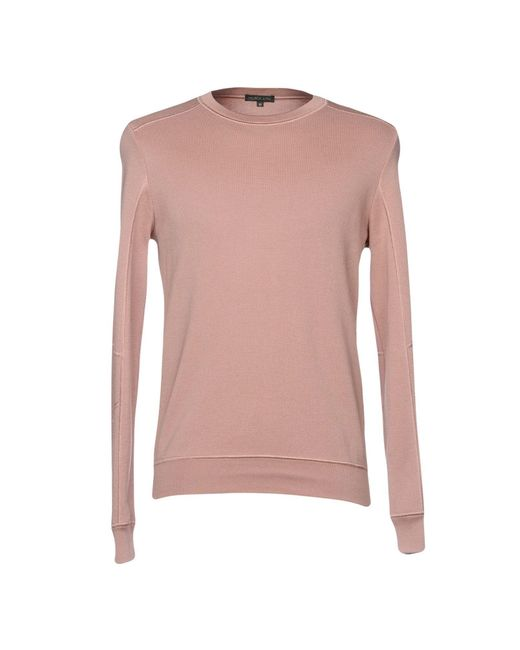 Scaglione - Pink Sweater for Men - Lyst