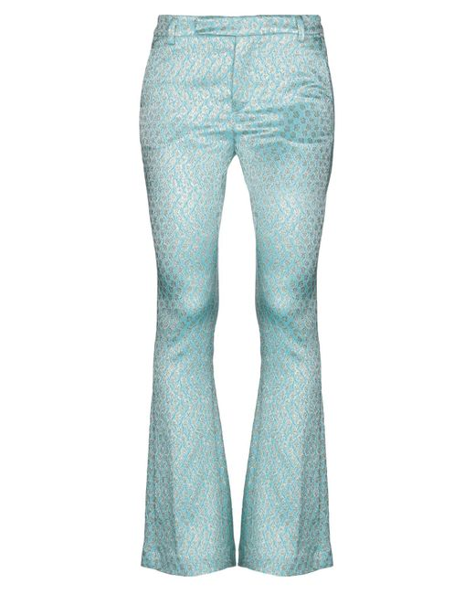 Femme By Michele Rossi Blue Casual Pants