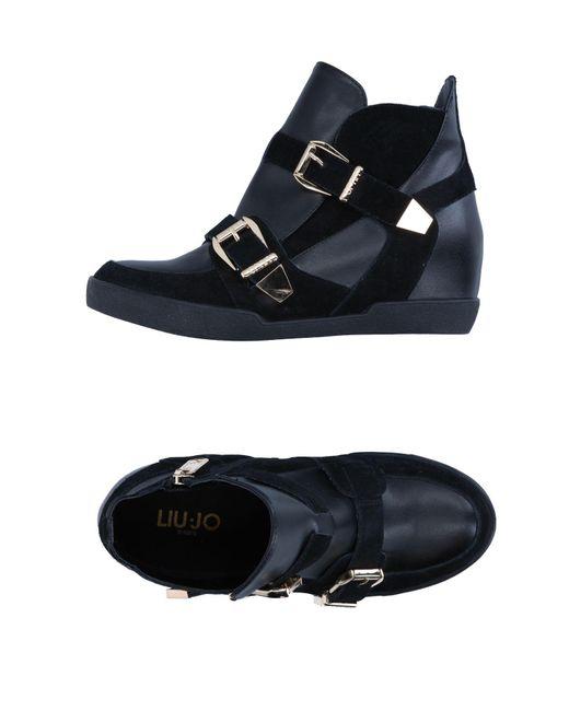Liu Jo   Black High-tops & Sneakers   Lyst