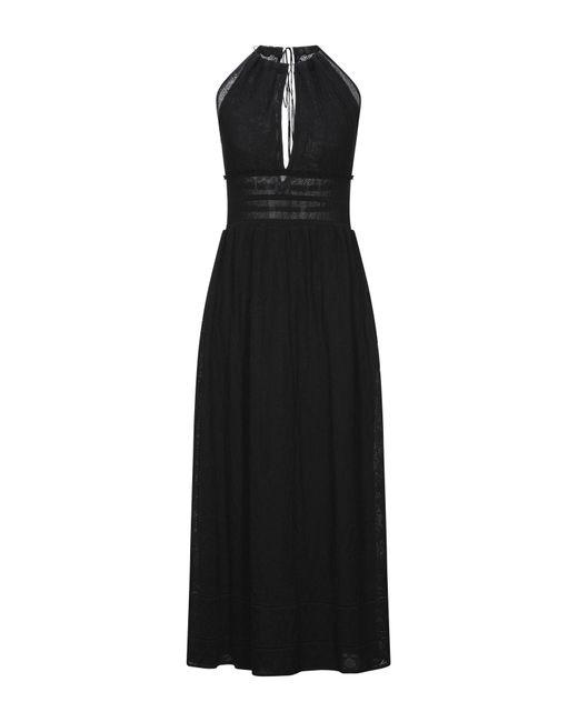 M Missoni Black Long Dress