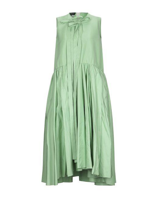 Robe mi-longue Rochas en coloris Green