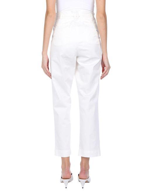 Pantalone di Woolrich in White